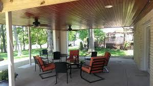 covered porch joe m staub building group 1960 u0027s lake home remodel