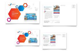 create business postcards postcard designs business postcard