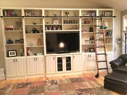 Bookcase Ladder Hardware Library Ladder System U2013 Instavite Me