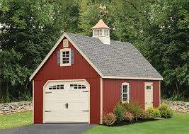 backyard garage prefab garages to custom amish built garages backyard beyond