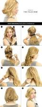 easy and fast diy hairstyles tutorials fashion beauty news