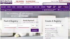 find wedding registry bed bath and beyond wedding registry review tbrb info tbrb info