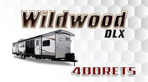 2017 forest river wildwood dlx 400rets park trailer lakeshore rv