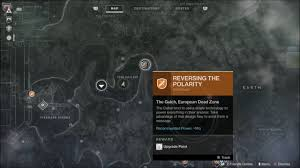 Destiny Maps Leaked Footage Of The Destiny 2 European Dead Zone Surfaces Tank
