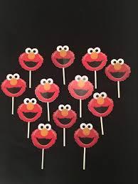 sesame cake toppers sesame cupcake toppers sesame party sesame
