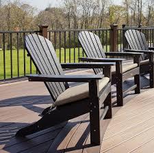 Black Outdoor Chair Cushions Furniture Beautiful Adirondack Chair Cushion Design Ideas With