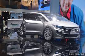 mpv car 2017 gallery geely mpv concept on stage in shanghai