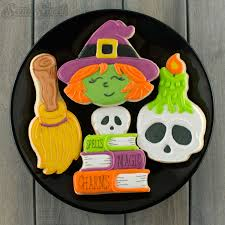 Decorate Halloween Cookies How To Make Skull Candle Cookies Semi Sweet Designs