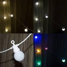 woodside 20led opaque festoon string lights lighting outdoor value