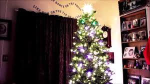 ge itwinkle light christmas tree youtube