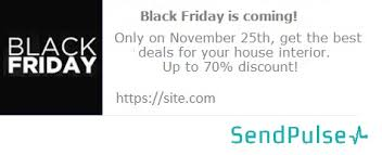 black friday is coming ideas for black friday email campaigns sendpulse