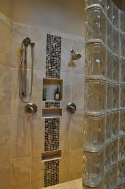 glass block designs for bathrooms small bathroom decoration glass block shower wall panel