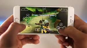 install full speed psp emulator with games on iphone ipad