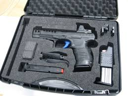 walther q5 match pistol with trijicon rmr gun world australia
