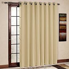 Insulated Thermal Curtains Thermal Insulated Blackout Curtains Beige 2 Panels