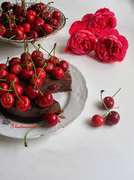 i lost in austen chocolate cherry mousse cake donna hay