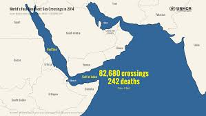 Map Of The Red Sea Unhcr Protection At Sea