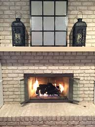 cleaning brick fireplace with vinegar thecarpets co