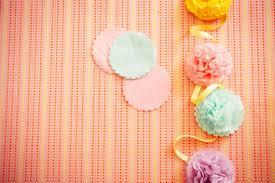 Wedding Backdrop Diy Diy Pastel Pompom Party Backdrop By Hip Hip Hooray
