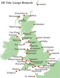 tidal predictions for uk ports national tidal and sea