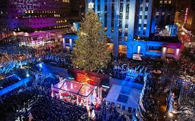when is the christmas tree lighting in nyc 2017 get a first look at this year s rockefeller center christmas tree