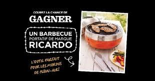 ricardo cuisine concours concours gagnez un bbq portatif ricardo concours en ligne québec