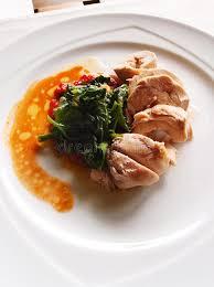 cuisine asiatique poulet poulet avec des épinards cuisine asiatique saine image stock