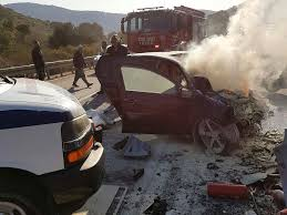 4 killed 4 seriously injured in car crash the times of israel
