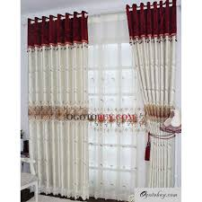 White Contemporary Curtains Modern White Printed Jacquard Eco Friendly Curtains Buy White