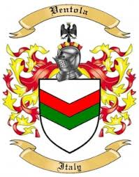 ventola family crest from italy by the tree maker