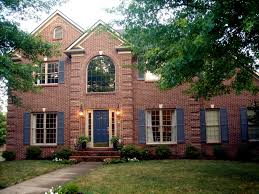 Exterior Paint For Windows Red Brick House Accent Colors Color Schemes Matching Exterior Paint