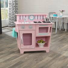 kitchen set furniture kidkraft classic kitchen set reviews wayfair