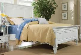 Ashby Bedroom Furniture Furniture Ashby King Panel Bed In Patina White 71960k