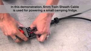 12 pin metal trailer plug u0026 socket wiring demonstration youtube