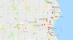 Wisconsin Usa Map Popular 266 List San Diego Brewery Map