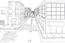 one point perspective drawing the ultimate guide city scene
