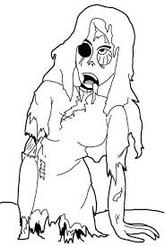 printable zombie coloring pages coloring