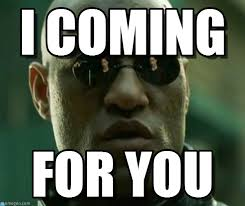 Morpheus Cat Meme - i coming what if i told you meme on memegen