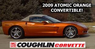 atomic orange corvette convertible for sale rick corvette conti archive 2009 atomic orange corvette