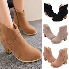 s zipper ankle boots winter zipper nubuck ankle cowboy boots smart electronix