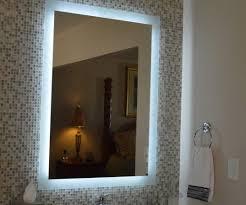 bathroom bathroom mirrors with led lights stunning bathroom