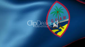 Guam Flag Guam State Flag Waving Royalty Free Video And Stock Footage