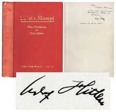 adolf autograph in