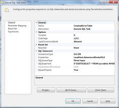 Sql Server Drop Table If Exists by Ssis Logging And Event Propagation Sql Server Blog Sql Server