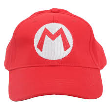 amazon com nintendo mario bro redbaseball cap mario hat red