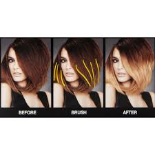 preference wild ombre on short hair preference wild ombres brush on dip dye