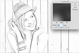 turn a photo into a pencil sketch in photoshop tutorial