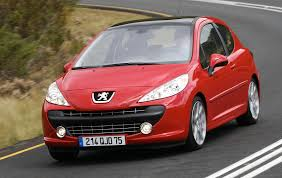 peugeot cars 1980 europe 2007 peugeot 207 edges vw golf out u2013 best selling cars blog
