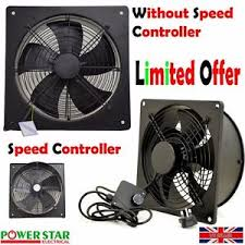 industrial air blower fan metal industrial ventilation extractor axial exhaust commercial air