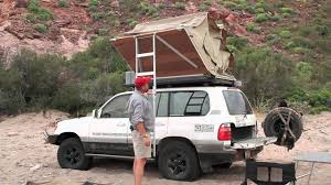 jeep roof top tent eezi awn roof top tent detailed setup youtube